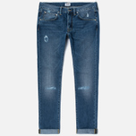 Мужские джинсы Edwin ED-55 Deep Blue Denim 11.8 Oz Blue Broken Washed фото- 0