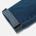 Мужские джинсы Edwin ED-55 Deep Blue Denim 11.8 Oz Blue Broken Washed фото- 4