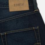Мужские джинсы Edwin ED-55 Deep Blue Denim 11.8 Oz Blue Coal Wash фото- 3