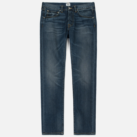 Мужские джинсы Edwin ED-55 Deep Blue Denim 11.8 Oz Blue Grime Dirt Wash