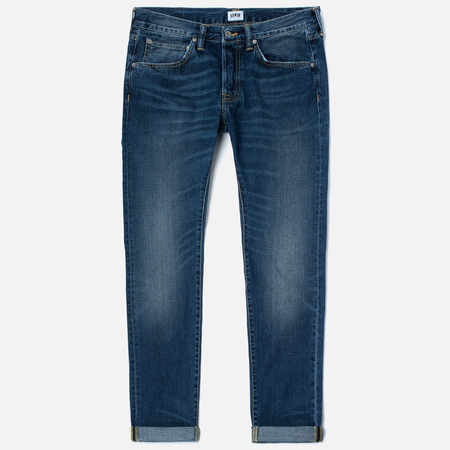 Мужские джинсы Edwin ED-55 Deep Blue Denim 11.8 Oz Blue Savage Wash