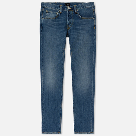 Мужские джинсы Edwin ED-55 Kingston Blue Denim 12 Oz Blue Clean Wash