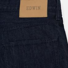 Мужские джинсы Edwin ED-55 Kingston Blue Denim 12 Oz Blue Rinsed фото- 4