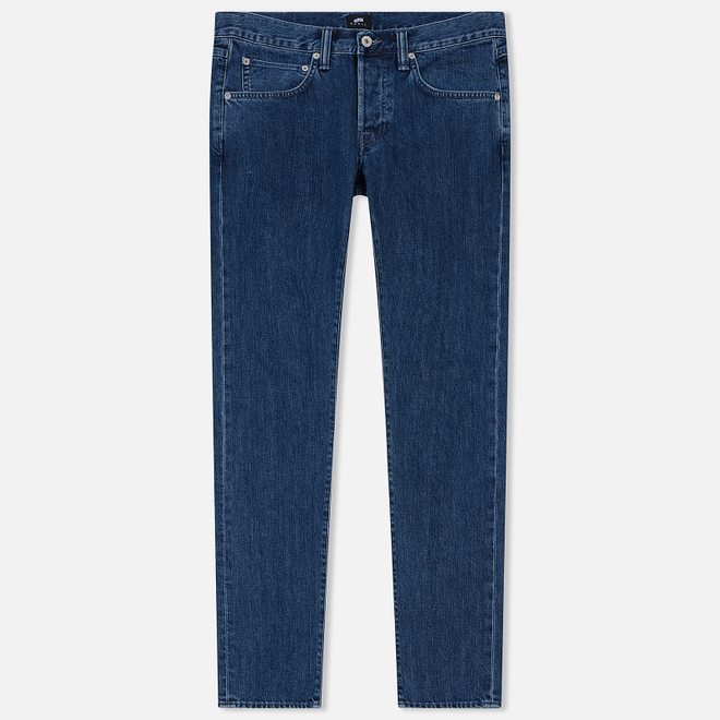 Мужские джинсы Edwin ED-55 Kingston Blue Denim 12 Oz Blue Topias Wash