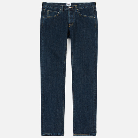 Мужские джинсы Edwin ED-55 Red Listed Selvage Denim 14 Oz Blue Dark Stone Dot