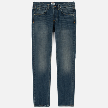 Мужские джинсы Edwin ED-55 Red Listed Selvage Denim 14 Oz Blue Retro Wash