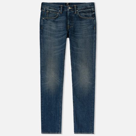 Мужские джинсы Edwin ED-55 Red Listed Selvage Denim 14 Oz Blue Satomi Wash