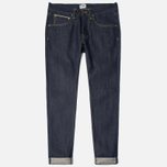 Мужские джинсы Edwin ED-55 Relaxed Tapered 63 Rainbow Selvage Blue Unwashed фото- 0