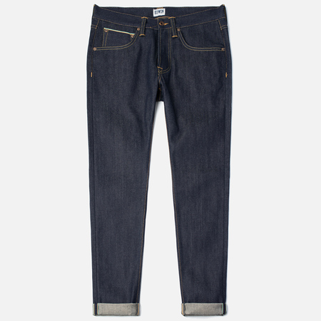Edwin ED-55 Relaxed Tapered 63 Rainbow Selvage Men's Jeans Blue Unwashed