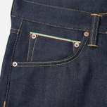 Мужские джинсы Edwin ED-55 Relaxed Tapered 63 Rainbow Selvage Blue Unwashed фото- 1