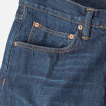 Edwin ED-55 Relaxed Tapered Compact Indigo Men's Jeans Dark Used photo- 1