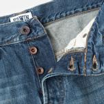 Мужские джинсы Edwin ED-55 Relaxed Tapered Compact Indigo Mid Used фото- 3