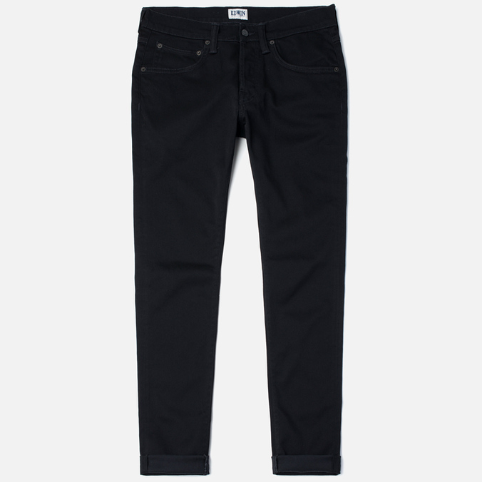 Edwin ED-55 Relaxed Tapered CS Ink 11.5 Oz Men's Jeans Black Rinsed