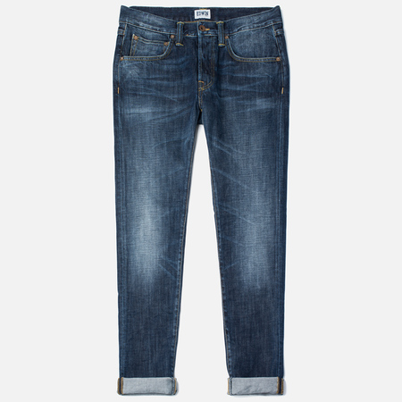 Edwin ED-55 Relaxed Tapered Men's Jeans Dark Blue Breeze Used