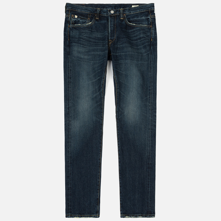 Мужские джинсы Edwin ED-55 Relaxed Tapered Nihon Menph Japan Selvage Stretch Dark Used
