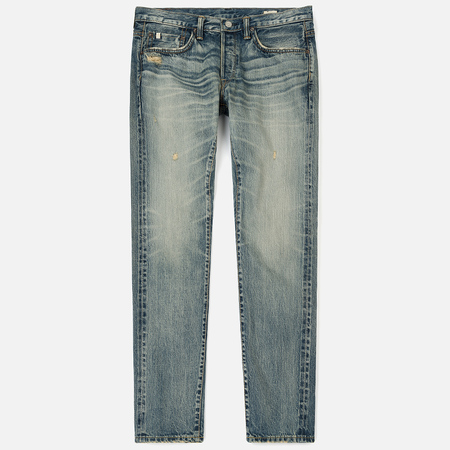 Мужские джинсы Edwin ED-55 Relaxed Tapered Nihon Menph Japan Selvage Stretch Light Used