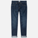 Мужские джинсы Edwin ED-55 Relaxed Tapered Red Listed Selvage Burner Wash фото- 0