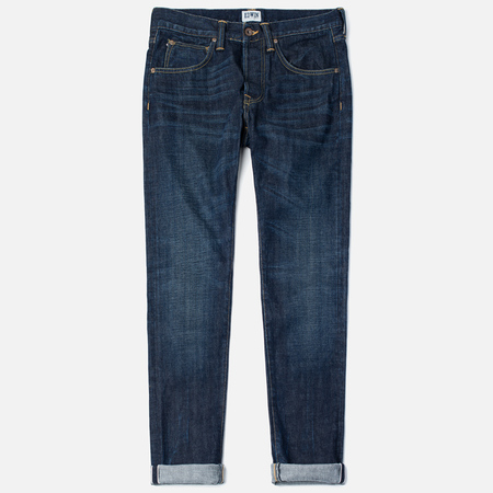 Edwin ED-55 Relaxed Tapered Red Listed Selvage Men's Jeans Burner Wash