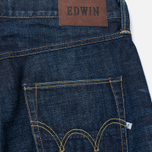 Мужские джинсы Edwin ED-55 Relaxed Tapered Red Listed Selvage Burner Wash фото- 1