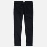 Мужские джинсы Edwin ED-55 Relaxed Tapered White Listed Black Selvedge 13 Oz Black фото- 0
