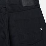Мужские джинсы Edwin ED-55 Relaxed Tapered White Listed Black Selvedge 13 Oz Black фото- 3
