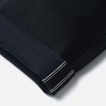 Мужские джинсы Edwin ED-55 Relaxed Tapered White Listed Black Selvedge 13 Oz Black фото- 4