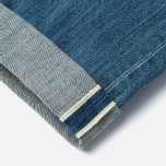 Мужские джинсы Edwin ED-55 White Listed Indigo 12.5 Oz Blue Mid Sifted фото- 4