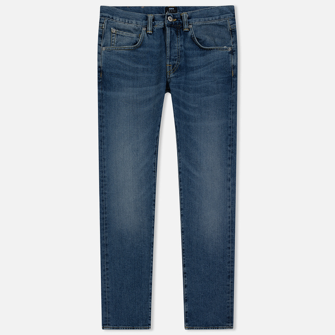 Мужские джинсы Edwin ED-55 Yoshiko Left Hand Denim 12.6 Oz Blue Yumiko Wash