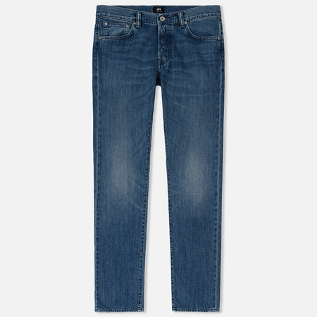 Мужские джинсы Edwin ED-71 Kingston Blue Denim 12 Oz Blue Clean Wash