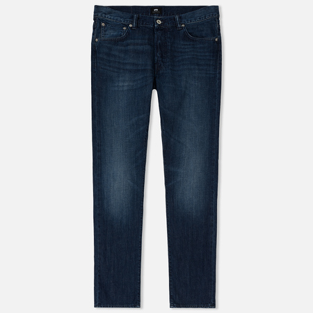 Мужские джинсы Edwin ED-71 Kingston Blue Denim 12 Oz Blue Mid Coal