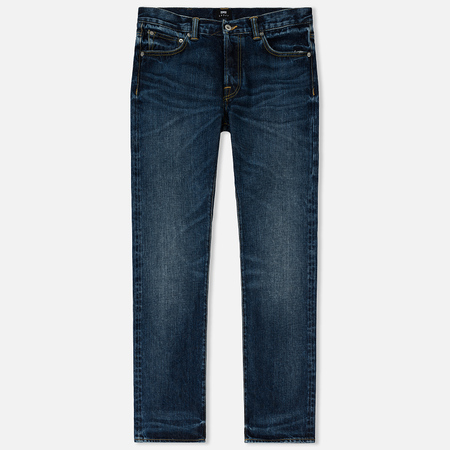 Мужские джинсы Edwin ED-71 Red Listed Selvage Denim 14 Oz Blue Contrast Clean Wash