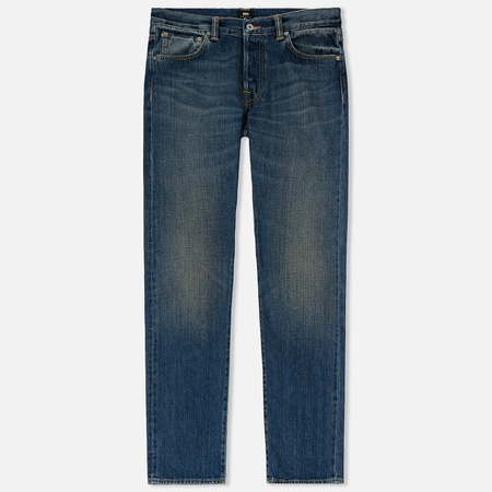 Мужские джинсы Edwin ED-71 Red Listed Selvage Denim 14 Oz Blue Satomi Wash
