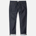 Мужские джинсы Edwin ED-71 Regular Slim Compact Indigo Blue Unwashed фото- 0