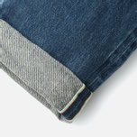 Мужские джинсы Edwin ED-75 Mid Rise Tapered 63 Rainbow Selvage HR-7 Blue фото- 3