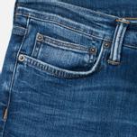 Edwin ED-75 Mid Rise Tapered CS Night Blue 12 Oz Men's Jeans Blue Mid Trip Used photo- 1