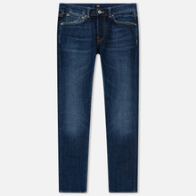 Мужские джинсы Edwin ED-80 63 Rainbow Selvage Denim 12.8 Oz Blue Hiraku Wash фото- 0
