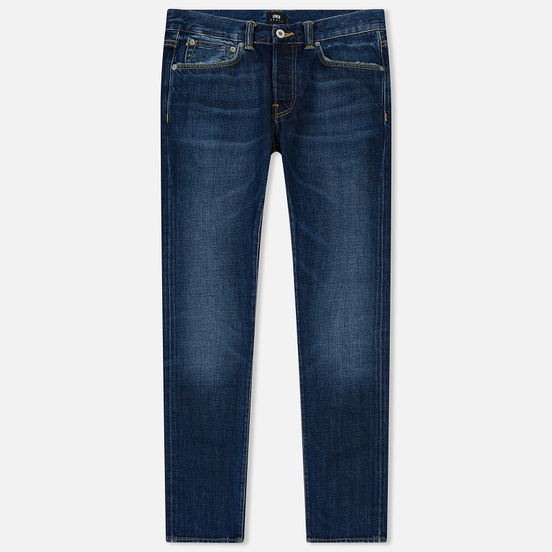 Мужские джинсы Edwin ED-80 63 Rainbow Selvage Denim 12.8 Oz Blue Hiraku Wash