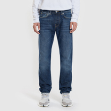 Мужские джинсы Edwin ED-80 63 Rainbow Selvage Denim 12.8 Oz Blue Hiraku Wash фото- 1