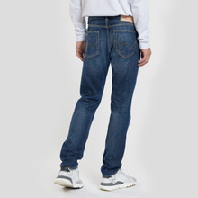 Мужские джинсы Edwin ED-80 63 Rainbow Selvage Denim 12.8 Oz Blue Hiraku Wash фото- 2