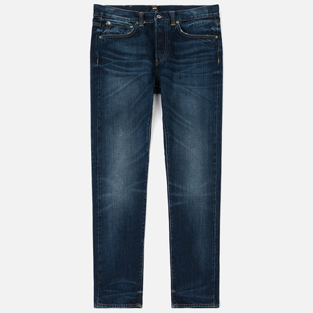 Мужские джинсы Edwin ED-80 63 Rainbow Selvage Denim 12.8 Oz Contrast Clean Wash