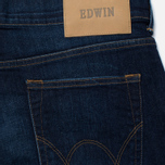 Мужские джинсы Edwin ED-80 CS Night Blue Denim 11 Oz Dark Trip Used фото- 3