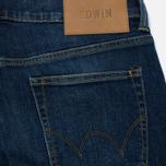 Мужские джинсы Edwin ED-80 CS Red Listed Selvage Denim 10.5 Oz Blast Wash фото- 3