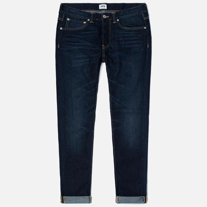Мужские джинсы Edwin ED-80 Deep Blue Denim 11.8 Oz Coal Wash