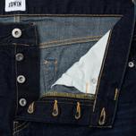 Мужские джинсы Edwin ED-80 Deep Blue Denim 11.8 Oz Coal Wash фото- 2