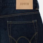 Мужские джинсы Edwin ED-80 Deep Blue Denim 11.8 Oz Coal Wash фото- 3