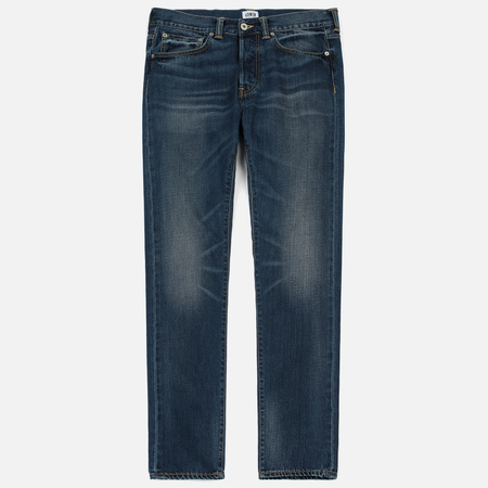 Мужские джинсы Edwin ED-80 Deep Blue Denim 11.8 Oz Grime Dirt Wash