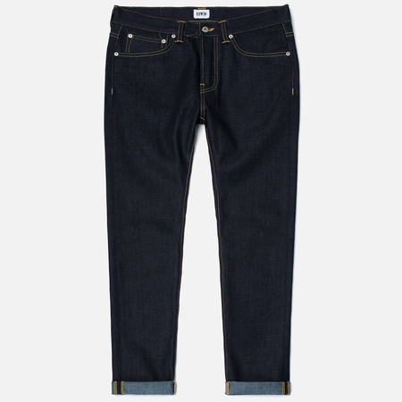 Мужские джинсы Edwin ED-80 Deep Blue Denim 11.8 Oz Unwashed