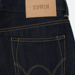 Мужские джинсы Edwin ED-80 Deep Blue Denim 11.8 Oz Unwashed фото- 3