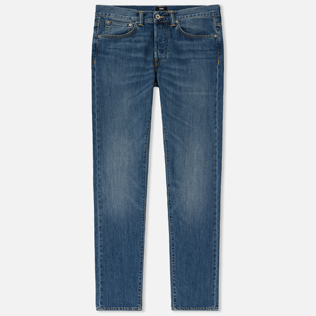 Мужские джинсы Edwin ED-80 Kingston Blue Denim 12 Oz Blue Clean Wash