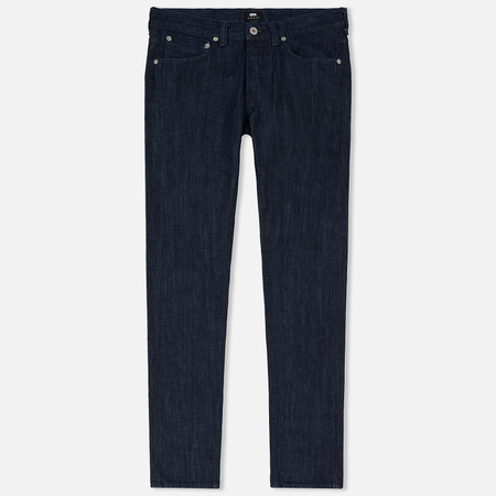 Мужские джинсы Edwin ED-80 Kingston Blue Denim 12 Oz Blue Rinsed